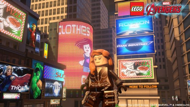 lego marvel's avengers new black widow screen