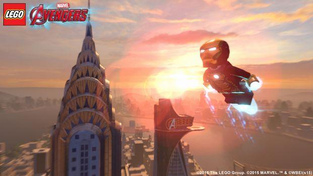 lego marvel's avengers new iron man screen 1