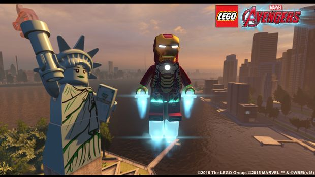 lego marvel's avengers new iron man screen 2