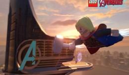 lego marvel's avengers new york thor logo