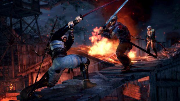 nioh gameplay screen 2