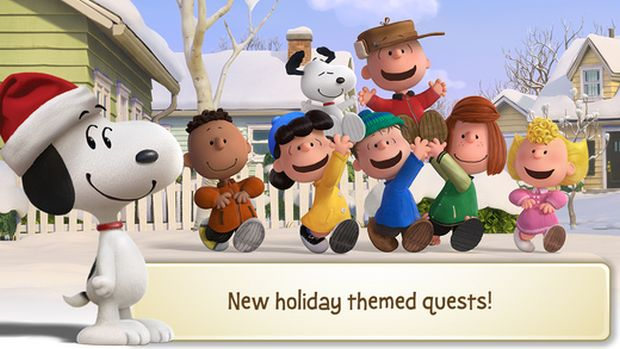 peanuts snoopy's town tale christmas screen 2