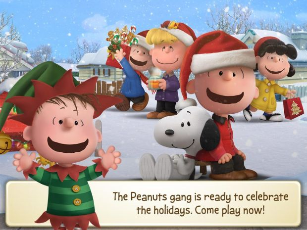 peanuts snoopy's town tale christmas screen 3