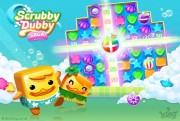 scrubby dubby saga screen logo