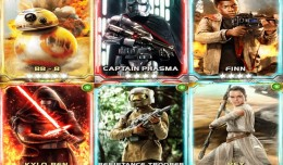 star wars force collection force awakens cards logo