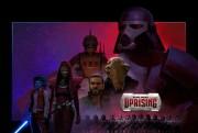 star wars insurrection sabre laser logo
