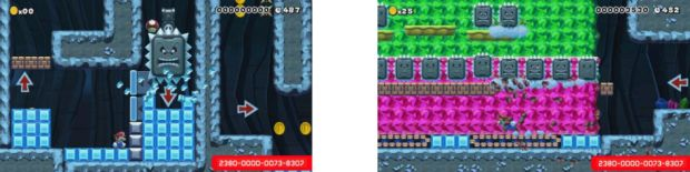 super mario maker crushed ice