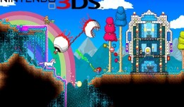 terraria nintendo 3ds test review