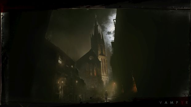 vampyr artwork dontnod 2