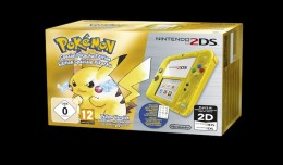 Nintendo 2DS Yellow Pikachu Pokemon