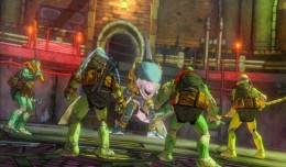 TMNT Mutants in Manhattan Screen logo