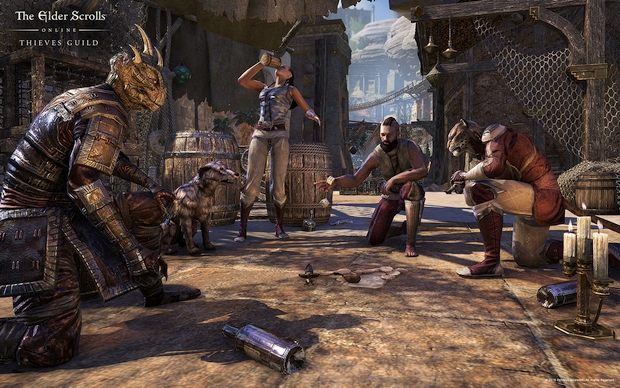 The Elder Scrolls Online Thieves Guild Screen 1
