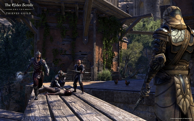 The Elder Scrolls Online Thieves Guild Screen 3