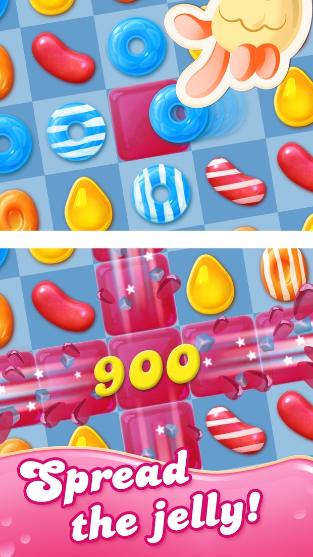 candy crush jelly saga screen 1