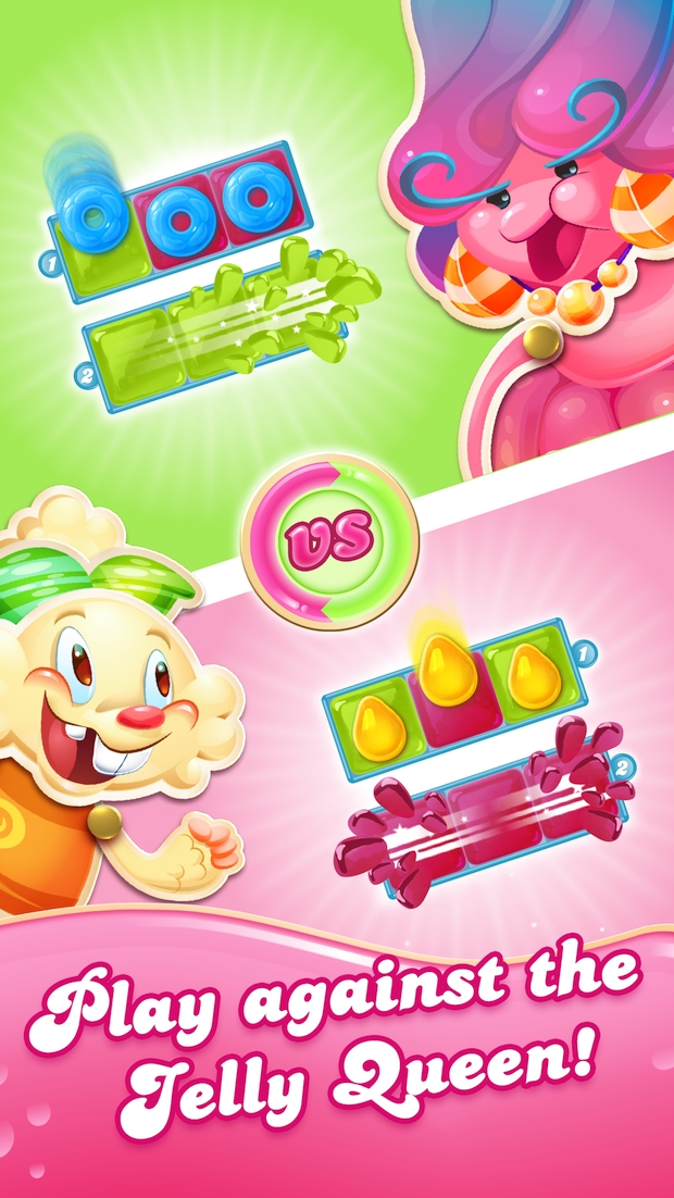 candy crush jelly saga screen 2