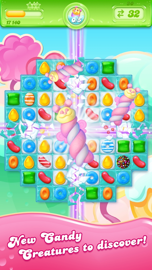 candy crush jelly saga screen 3