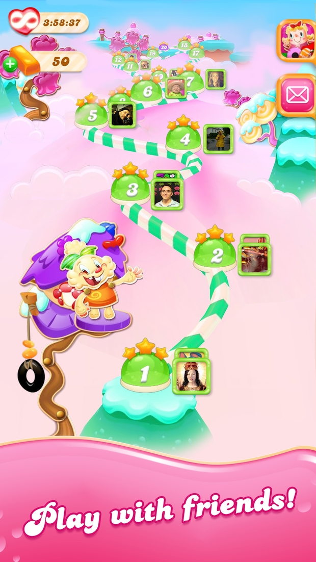 candy crush jelly saga screen 4