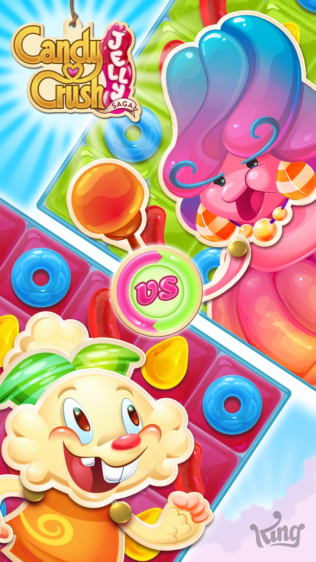 candy crush jelly saga screen 5