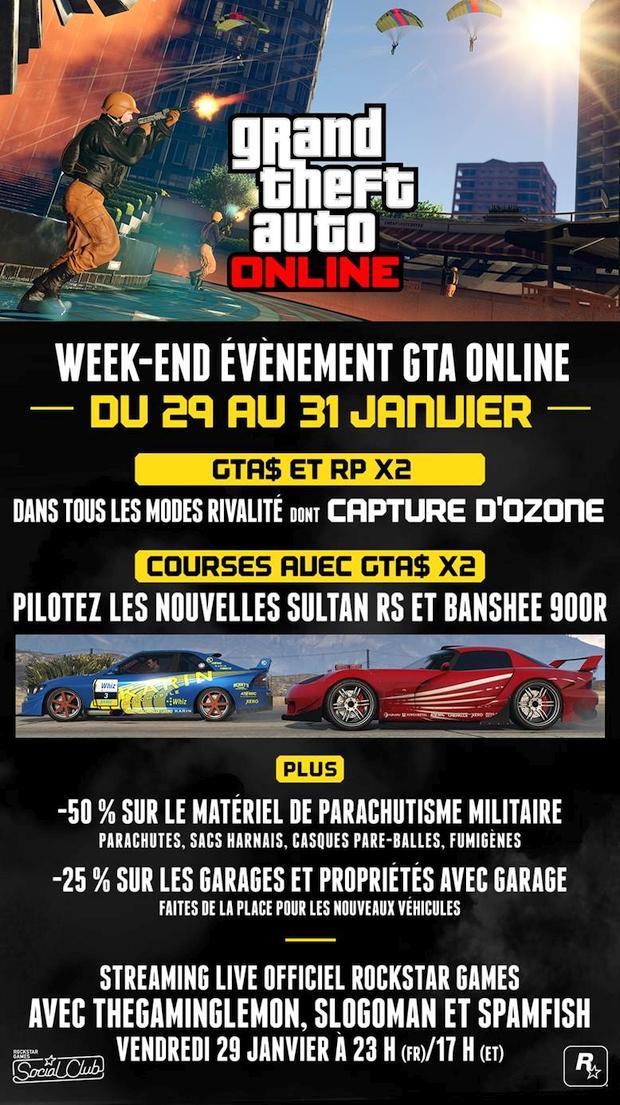 gta online ultimate week end