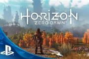 horizon zero dawn playstation 4 screen logo