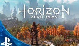 horizon zero dawn playstation 4 screen logo