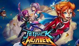 jetpack fighter logo