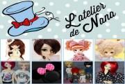 l'atelier de nana dolls logo