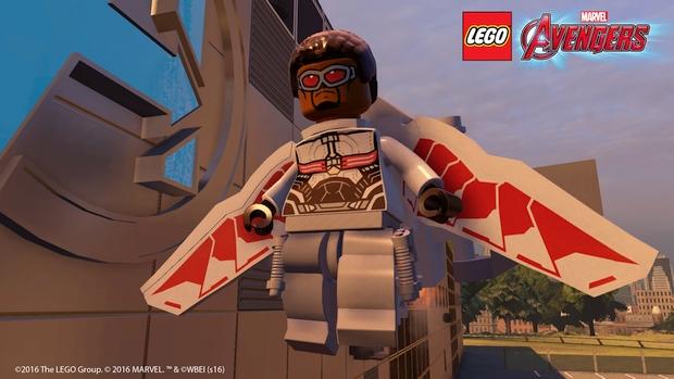 lego marvel's avengers falcon