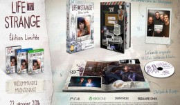 life is strange version boîte collector logo