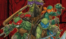teenage mutant ninja turtles mutants in manhattant screen logo