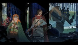 the banner saga playstation 4 screen 1