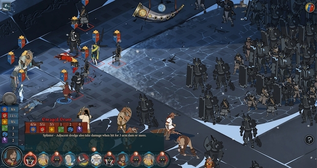 the banner saga playstation 4 screen 2