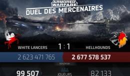 Armored Warfare duel des mercenaires round 2 logo