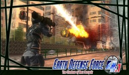 Earth Defense Force 4-1 Test Review Screen Logo