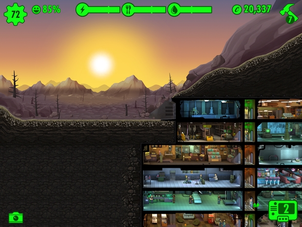 Fallout Shelter Update 1-4 Aurore