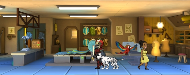 Fallout Shelter Update 1-4 animaux