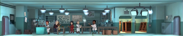 Fallout Shelter Update 1-4 armurerie