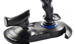 T Flight Hotas 4 Thrustmaster screen logo