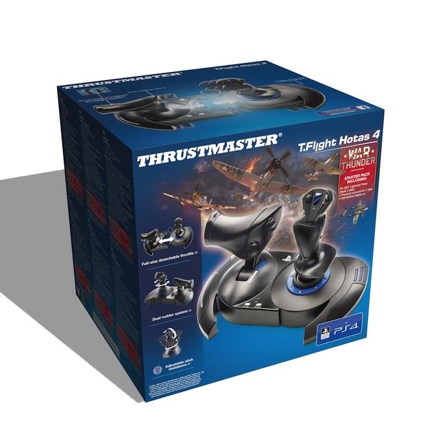 T Flight Hotas 4 Thrustmaster screen package