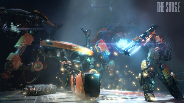 the surge gameplay screen 1