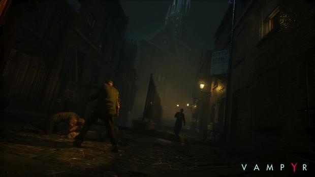 vampyr dontnod screenshot 1