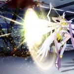 Bien qu'il soit en deçà des capacités techniques de la PS4, ce Digimon affiche des effets spéciaux percutants!