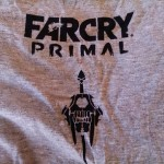 Far Cry Primal t-shirt back concours