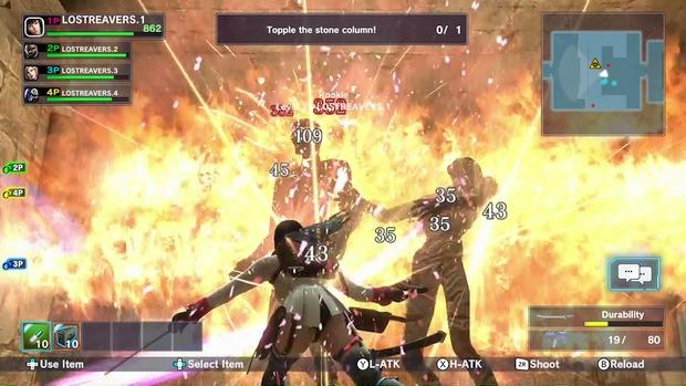 Lost Reavers Wii U Screen 1