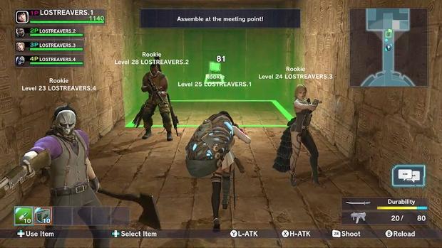Lost Reavers Wii U Screen 4