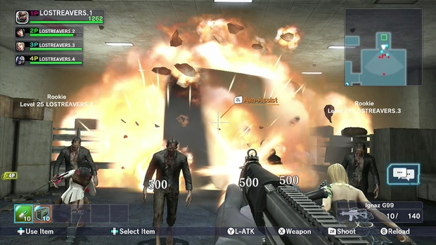 Lost Reavers Wii U Screen 5