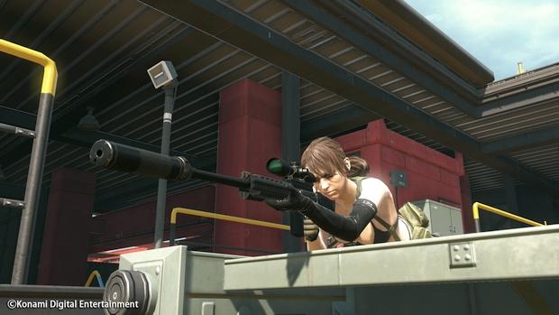 Metal Gear Online Cloacked in Silence Quiet Screen 1