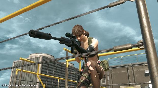 Metal Gear Online Cloacked in Silence Quiet Screen 2