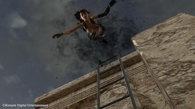 Metal Gear Online Cloacked in Silence Quiet Screen 3