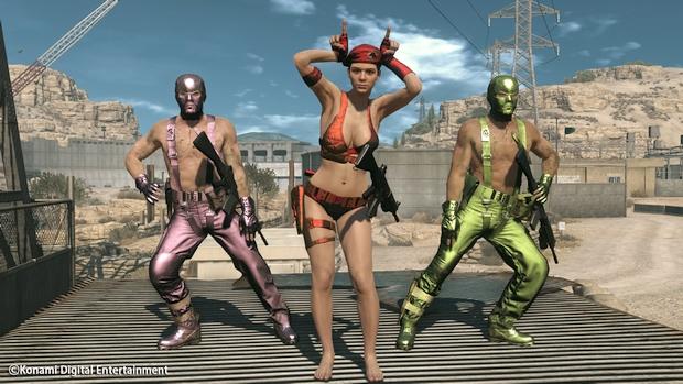 Metal Gear Online Cloacked in Silence Screen 01